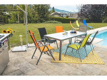 Gartentisch COLOR II 90x180x73cm