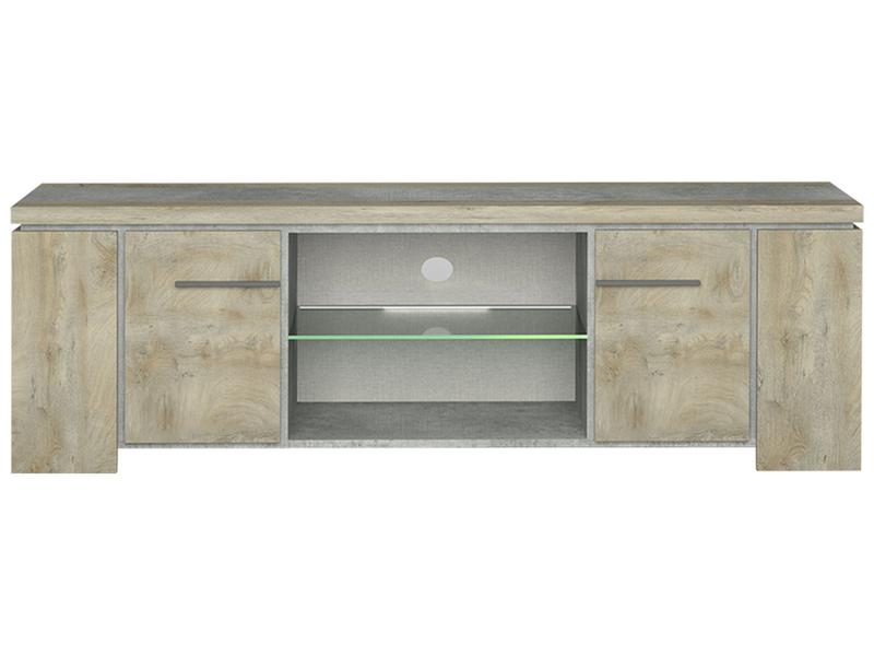 TV-Möbel NORTON beton, eiche