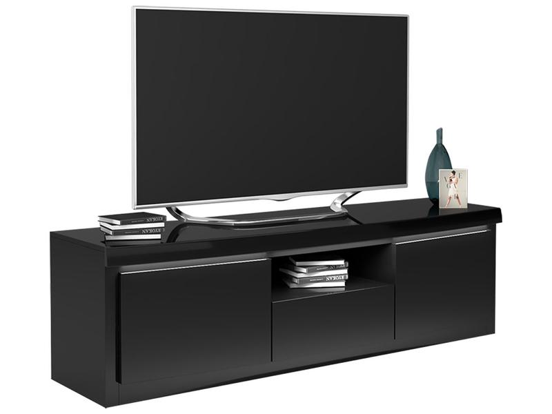 TV-Möbel SPIRIT schwarz