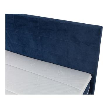 Boxspringbett AROLLA 160x200cm blau