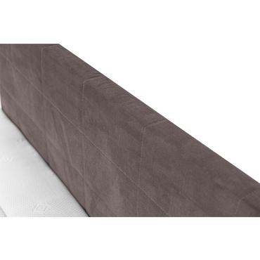 Boxspringbett AROLLA 180x200cm taupe
