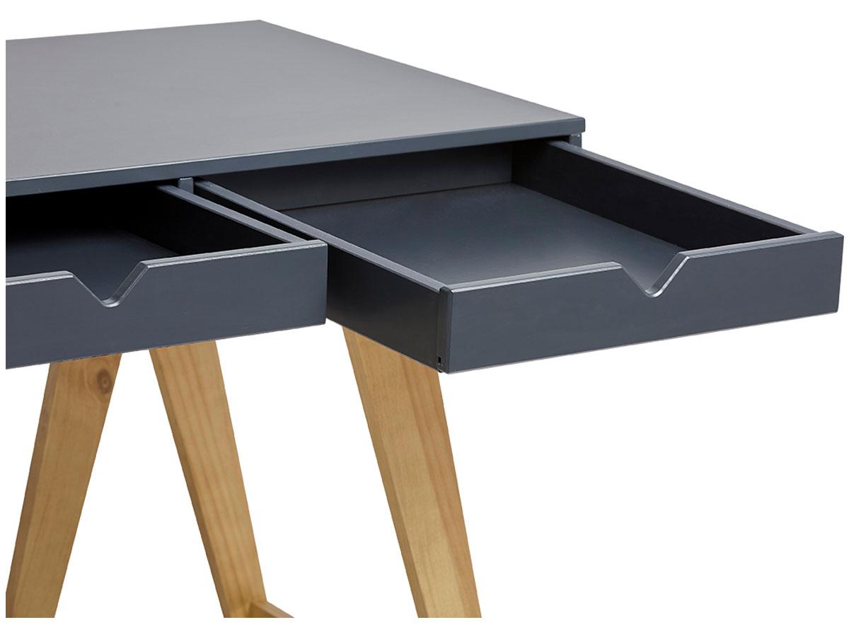Schreibtisch NATURE schwarz