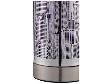 Tischlampe LED CITY LIGHT 9.5cm 20cm 25W violett