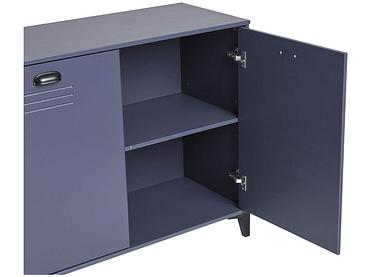 Kommode STREET 3 Türen 2 Schubladen dunkelblau