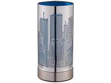 Tischlampe LED CITY LIGHT 9.5cm 20cm 25W blau