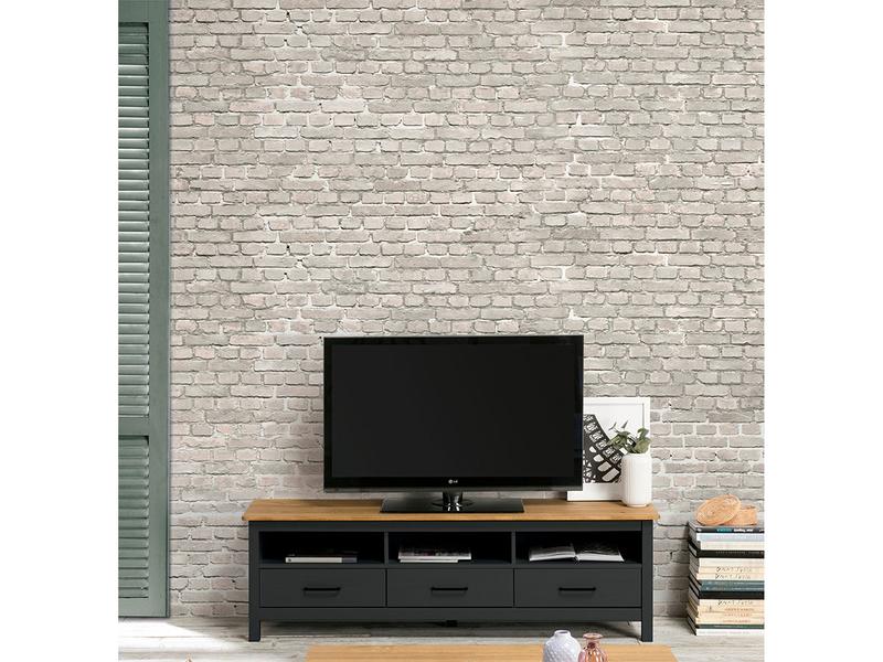 TV-Möbel ONYX anthrazit,eiche