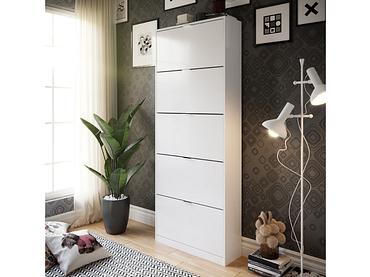 Schuhmöbel CHIC 2 Deckel schwarz