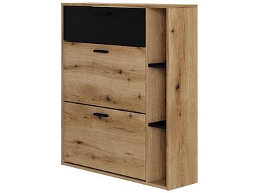 Schuhmöbel ENTRY 2 Deckel schwarz