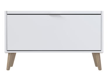 Schuhmöbel VINTAGE CLASSIC 3 Deckel weiss