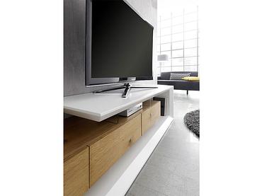 TV-Möbel EMELA weiss,natürliches holz