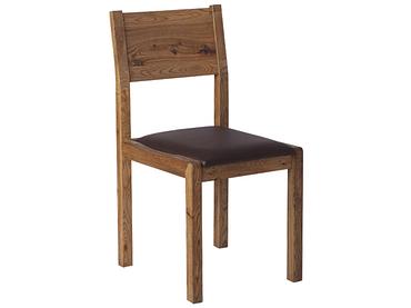 Stuhl EDWARD 2 Eiche schwarz