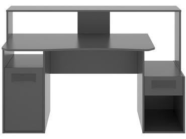 Gaming Schreibtisch GAMING ADVANCE grau anthrazit
