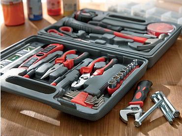 Werkzeugkasten BRICO ETC schwarz