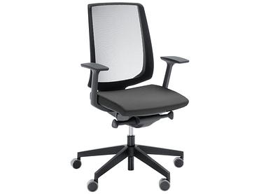 Chaise de bureau LIGHT UP noir