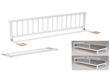 Barrière de lit SECURITY mdf blanc