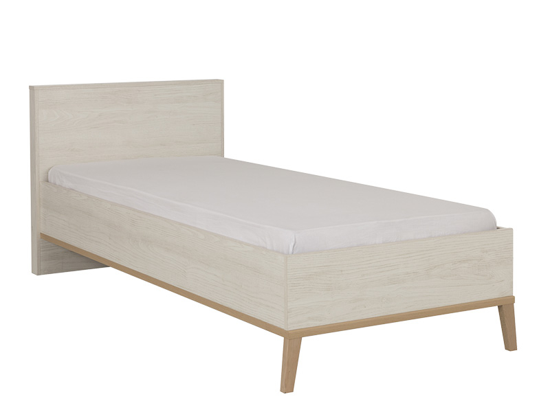 Lit ALIKA 120x200cm blanc