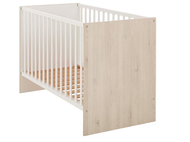 Lit de bébé FELIX 60x120cm blanc