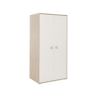 Schrank FELIX 2 Türen kiefer,weiss,weisse kiefer
