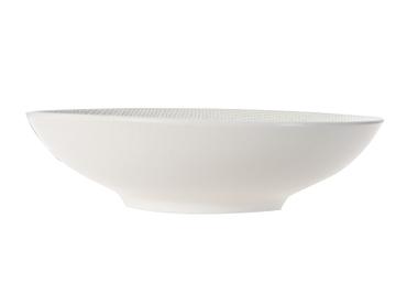Assiette creuse VESUVIO Ø19cm céramique blanc
