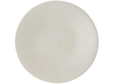 Assiette à dessert VESUVIO Ø20.5cm céramique blanc