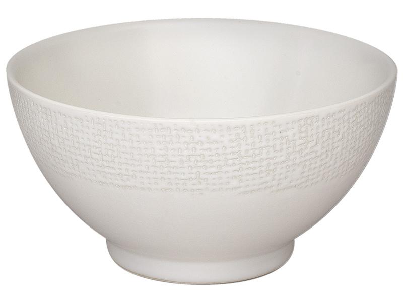 Bol VESUVIO Ø14cm céramique blanc
