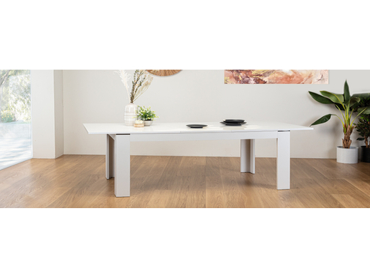 Table extensible SAPHIR 160-206.5x90x75cm