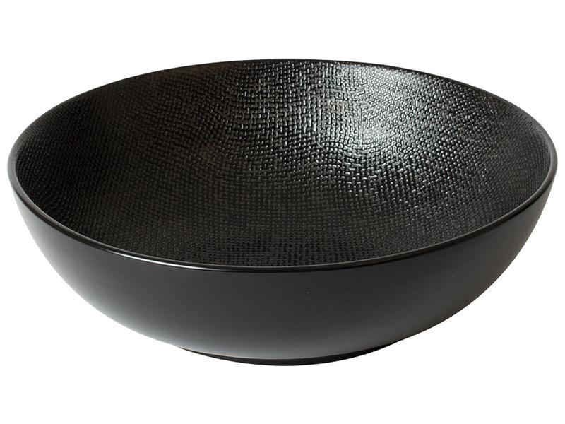 Saladier VESUVIO céramique noir