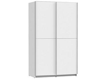 Armoire DANIELA 2 portes coulissantes blanc