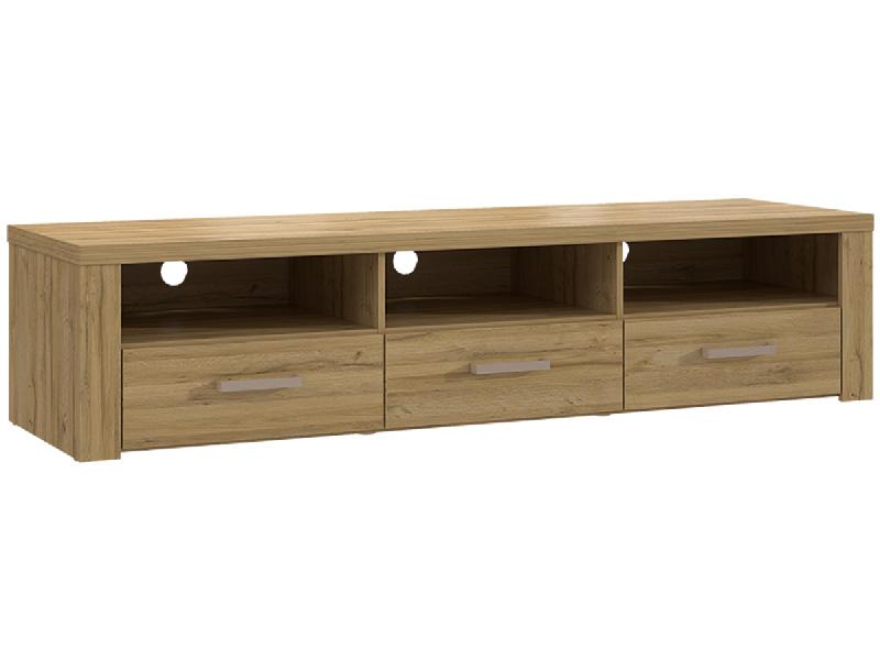 Meuble TV NEW PORTLAND chêne