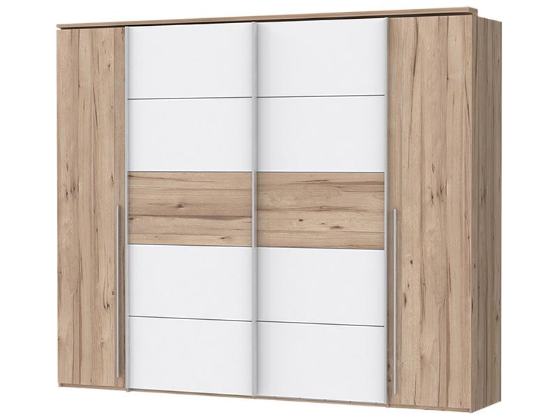 Armoire LOTTO 4 portes chêne