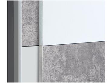 Armoire LINE 2 portes coulissantes blanc