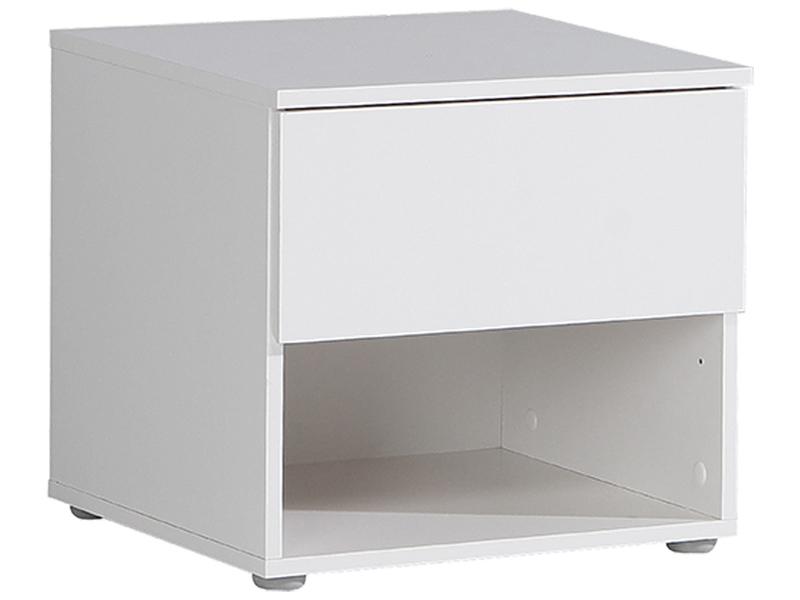 Chevet NEW YORK 1 tiroir blanc