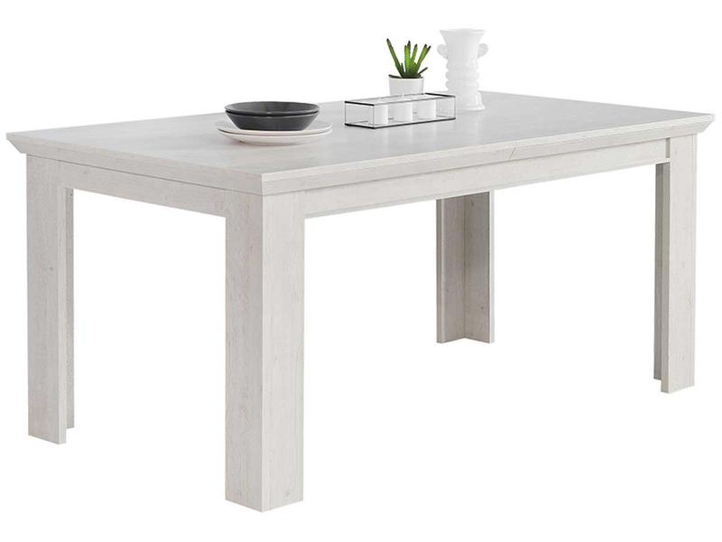 Table extensible KASHMIR 160-206.7x90x75cm