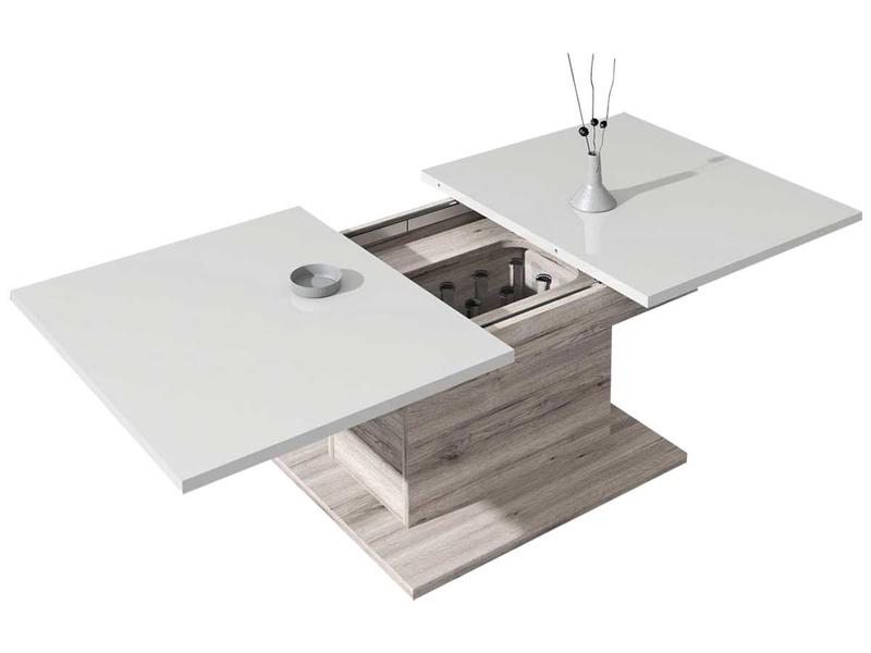 Table basse ST-TROPEZ blanc