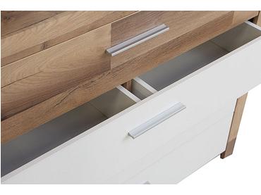 Commode SASKIA 4 tiroirs blanc