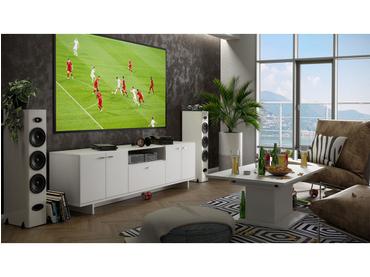 Meuble TV BIGGER blanc