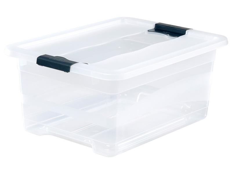 Boîte de rangement KRISTALLBOX blanc 29.5x39.5x17.5cm
