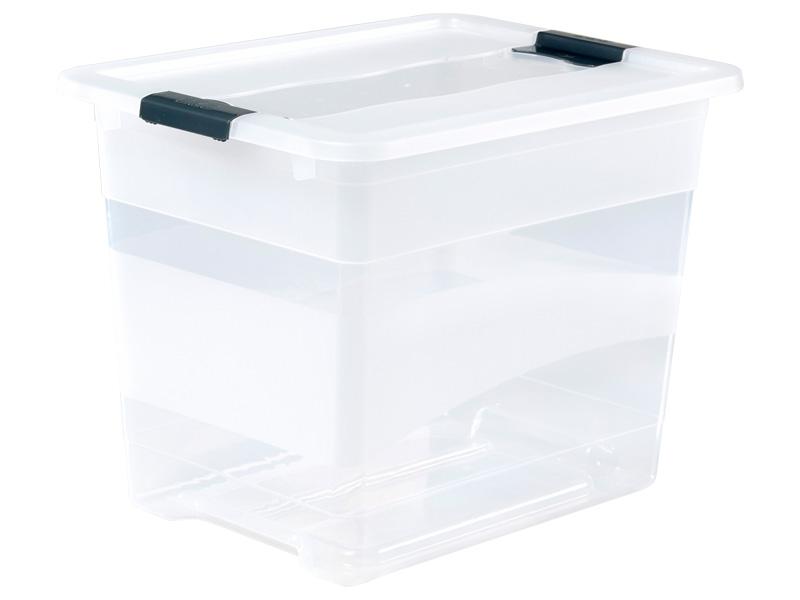 Boîte de rangement KRISTALLBOX blanc 29.5x39.5x30cm