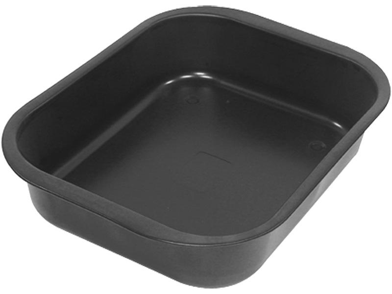 Plat à four Ø22cm aluminium noir