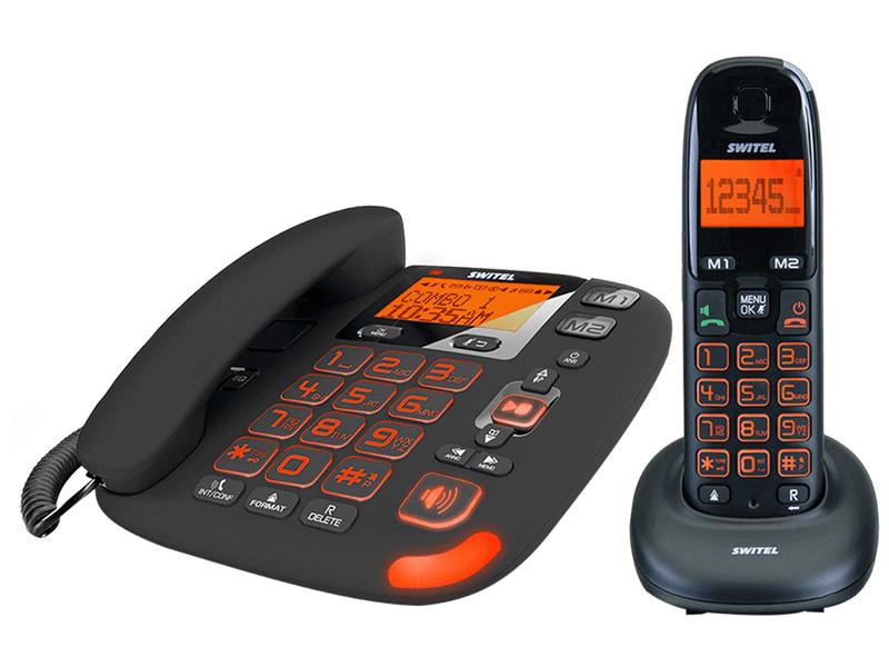 Téléphonie fixe SWITEL DCT50072 C VITA