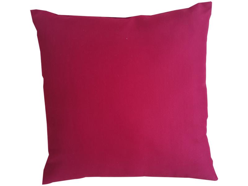 Coussin PRIMO 40x40cm rouge uni