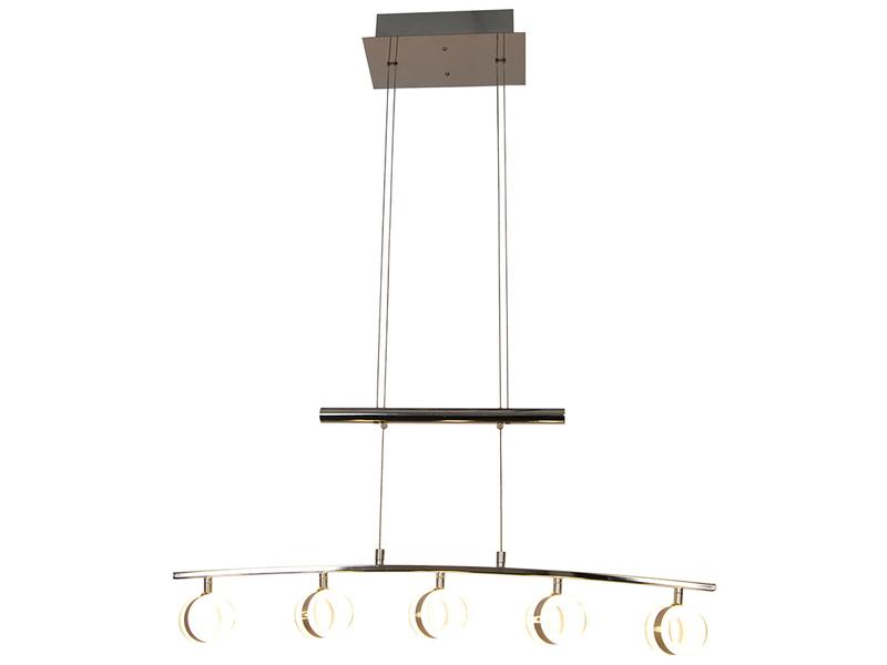 Suspension LED CANDLE 86x150cm 4.5W argenté