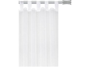 Voilage ELIAS 40x27cm polyester blanc