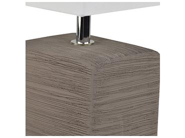 Lampe à poser LED KUBIK 13cm 30cm 40W brun