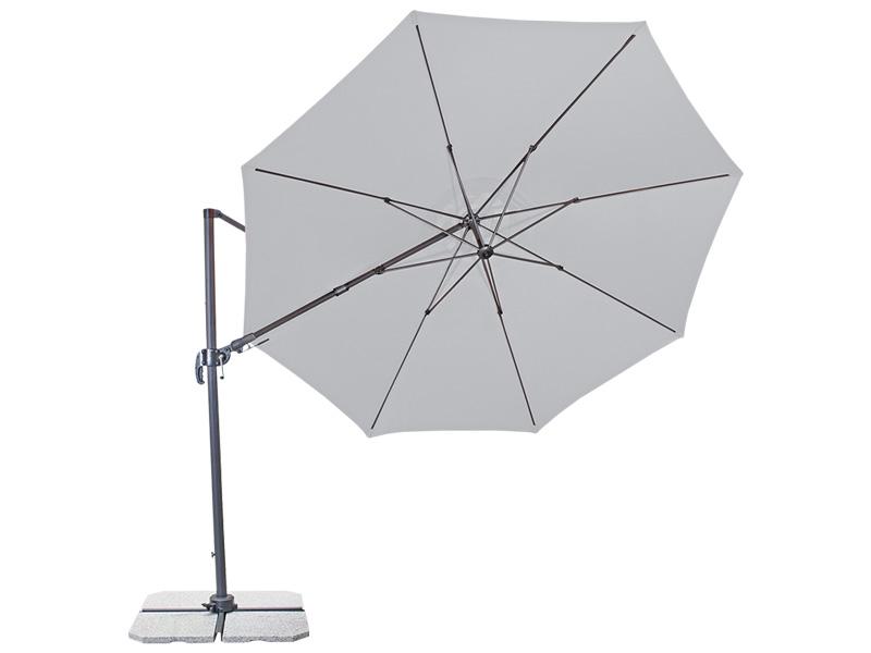 Parasol déporté RAVENNA Ø330cm