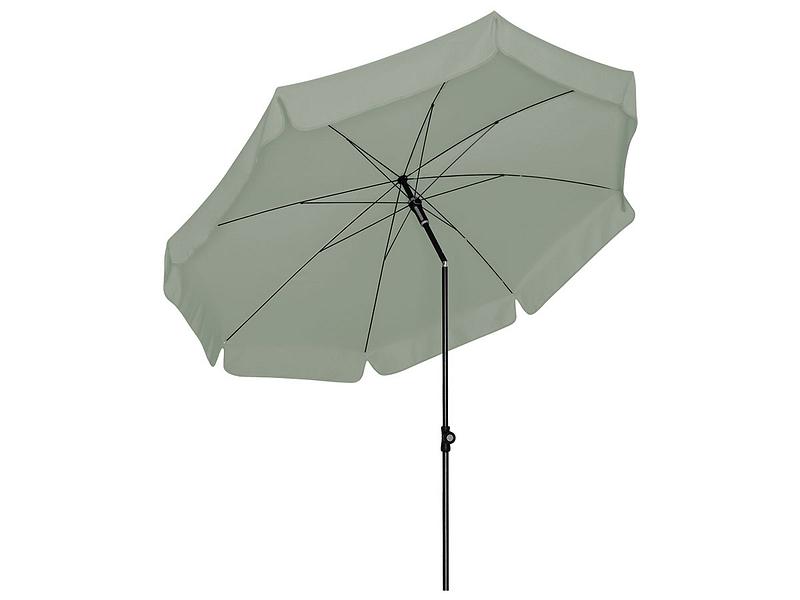 Parasol droit SUNLINE 150 NEO Ø150cm brun