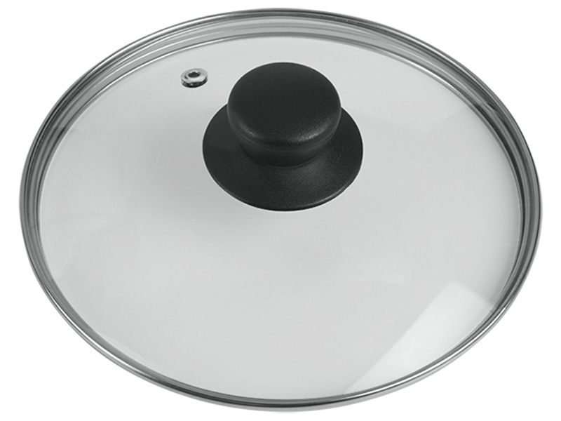 Couvercle Ø20cm verre transparent