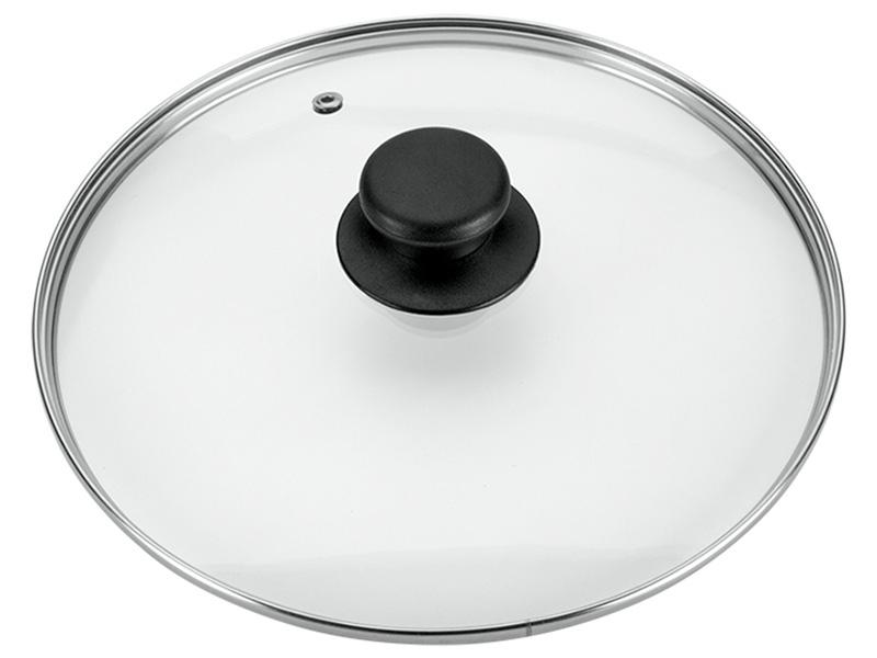 Couvercle Ø24cm verre transparent