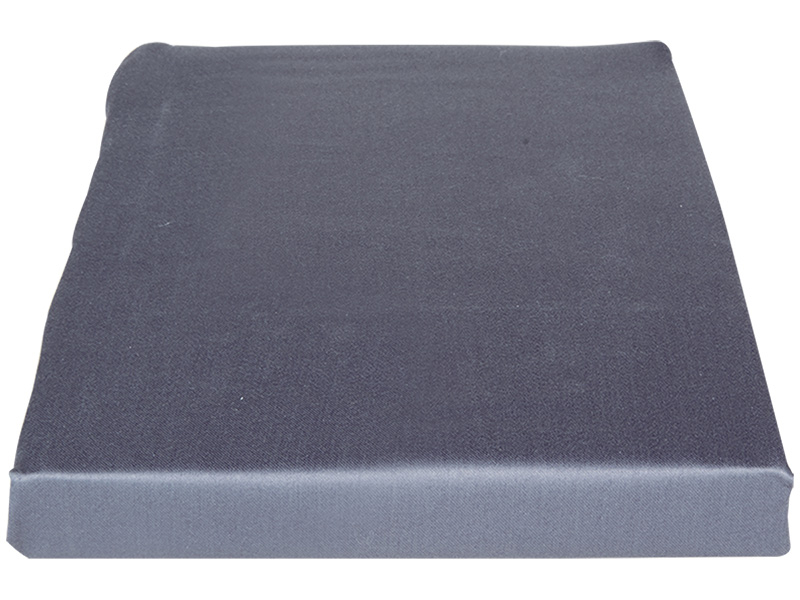 Drap-housse SATIN LOTUS 160x200cm gris