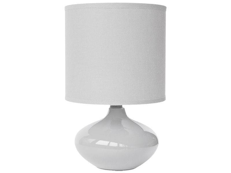 Lampe à poser LED ALIZEE 15cm 24.5cm 40W blanc